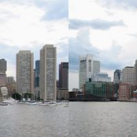 Rowes Wharf from the Harbor, Вестон
