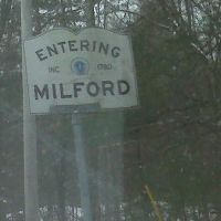 Entering Milford, Mass INC. 1780, Вимоут