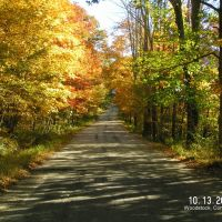 Autumn Country Lane - New England, Дадли