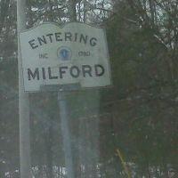 Entering Milford, Mass INC. 1780, Дедхам