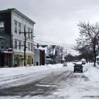 W Union St. after the storm, 2003, Ист-Бриджуотер
