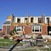 Tornado Damage Eastern Ave, Ист-Лонгмидоу