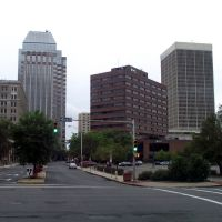 Downtown Springfield, MA from Harrison Avenue, Ист-Лонгмидоу