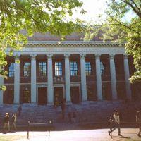 Boston - Harvard - Widener Library, Кембридж