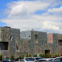 Full of Windows -- MITs Simmons Hall, Кембридж