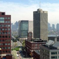 Kendall Square, the Charles, Boston, Кембридж