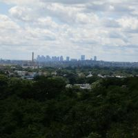 boston from lynn, ma. pine grove cemetary, Линн