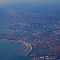 Aerial view of Boston, Линн