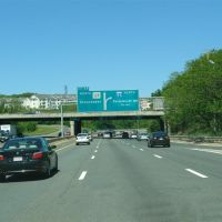 Junction of I-95 on Route 128 North - Peabody, MA, Линнфилд