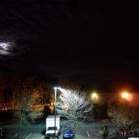 Car park at Red Roof Inn, Saugus, MA, Линнфилд