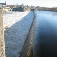 Lawrence Dam from the Broadway Bridge, Лоуренс