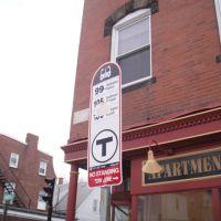 bus Stop Main Street, Малден