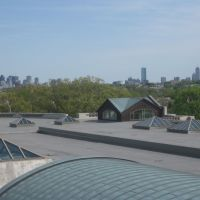 Boston Skyline from Tufts Library, Медфорд