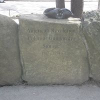 Engraved Rock at the Somerville Powderhouse, Медфорд