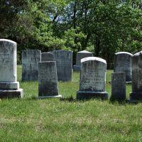 Gravestones in Vernon Grove Cemetery, Метуэн