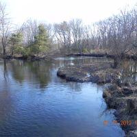 blackstone river looking downstream, Метуэн