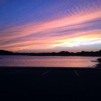 Wharf sunset, Нахант