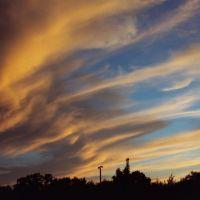 Sun fires sky, Нортборо
