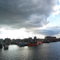 New Bedford Clouds and Boats, Нью-Бедфорд