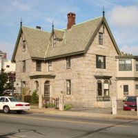 "Samuel Rodman ""Stone House"" 1844, Нью-Бедфорд"