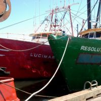"""Real World"" Working Boats, at the New Bedford Commercial Wharf., Нью-Бедфорд"