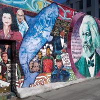 Frederic Douglass  |  Labor Mural, Нью-Бедфорд