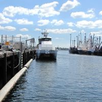 New Bedford Harbor,MA,USA, Нью-Бедфорд