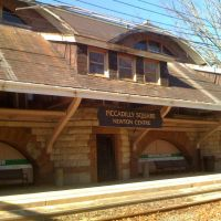 Newton Center Station, Ньютон