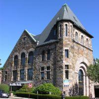 Newton Centre Romanesque building, Ньютон
