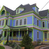 Newton Highlands, Queen Anne Style, 1880s, Ньютон