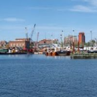 New Bedford Docks from Pope Island Marina, Оксфорд