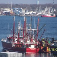 Civil Harbour in New Bedford,MA - former whales hunting point, Оксфорд