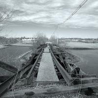 Burned out bridge, Пибоди