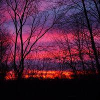 Sunrise over Peabody, MA USA, Пибоди