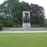 War Memorial, Pittsfield, MA, Питтсфилд