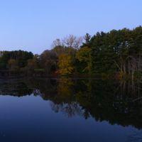 Canoe Meadows Wildlife Refuge at dusk, Питтсфилд