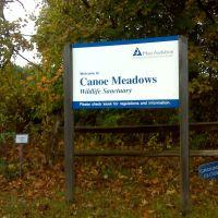 signage – Canoe Meadows Wildlife Sanctuary, Питтсфилд