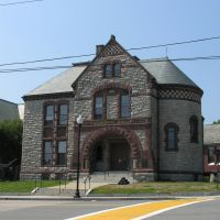 Milford Memorial Hall, 1884, Ревер