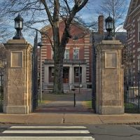Gate to Harvard Campus, HDR-Image 12-2008, Сомервилл