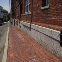 Street Detail, Dampcourse & Downspouts, Сомервилл