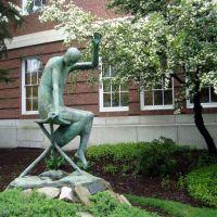 escultura en la universidad de HArvard, Сомервилл