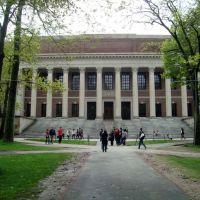 biblioteca central en Harvard, Сомервилл