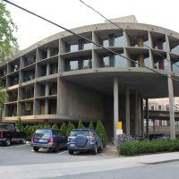 Carpenter Center - Eastern side, Harvard University, Cambridge, Massachusetts, Сомервилл
