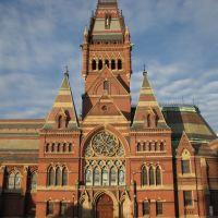 View to Memorial Hall of Harvard University, Сомервилл