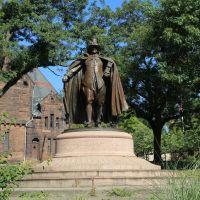 Deacon Samuel Chapin Statue, Springfield MA, Спрингфилд
