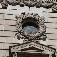 City Library Building Detail, Springfield MA, Спрингфилд