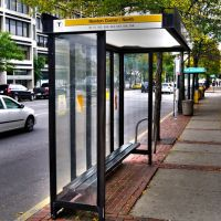 Newton Corner Bus Stop, Уотертаун