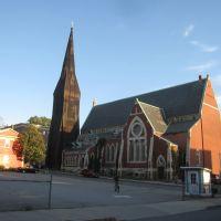 Fall River: Former Central Congregation Church, Фолл-Ривер
