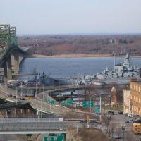 vista das highways visto da prefeitura, Фолл-Ривер