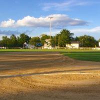 Baseball field at Sunset, Фрамингам